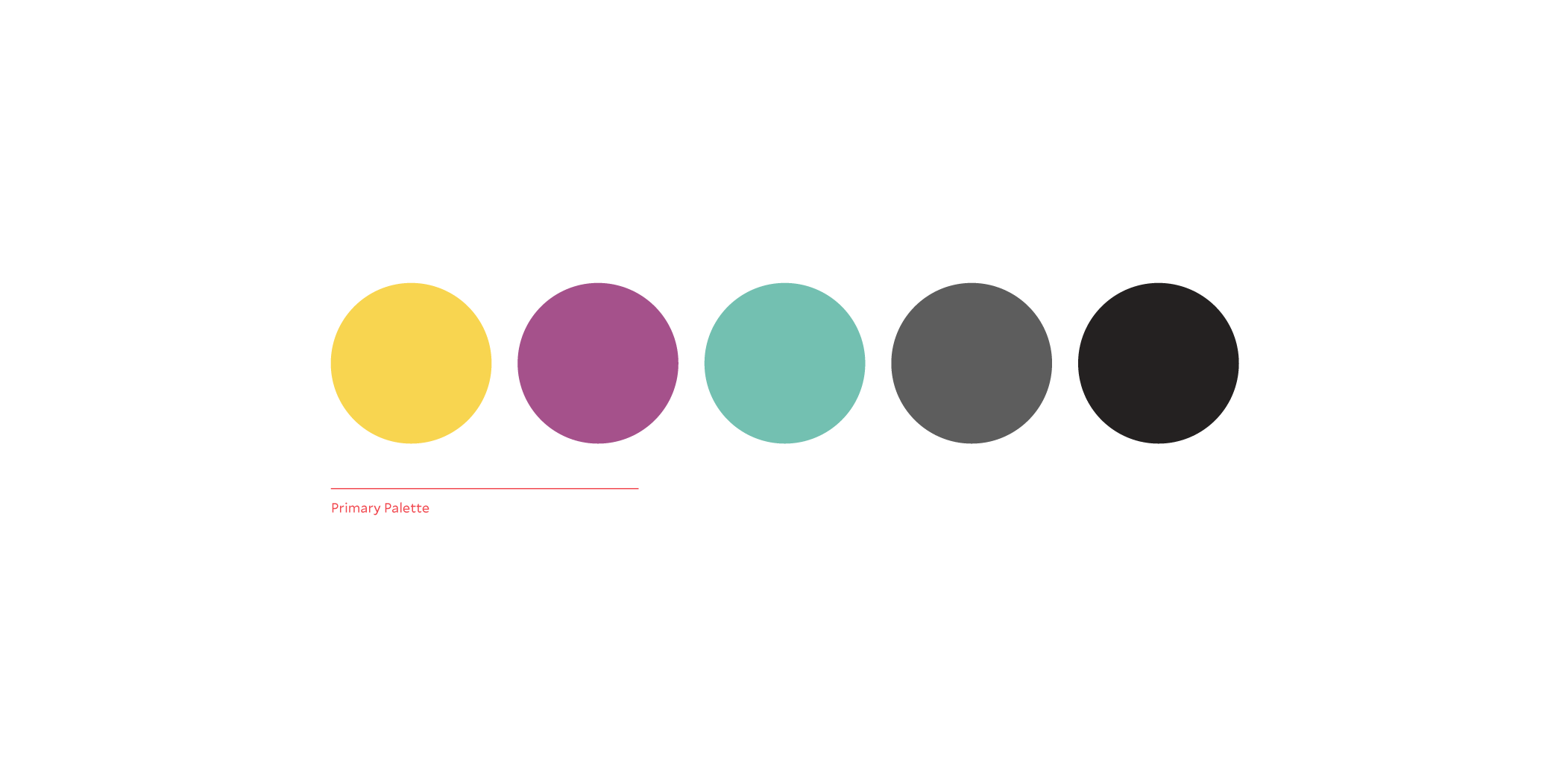 Primary Palette -  see detailed colour breakdown here