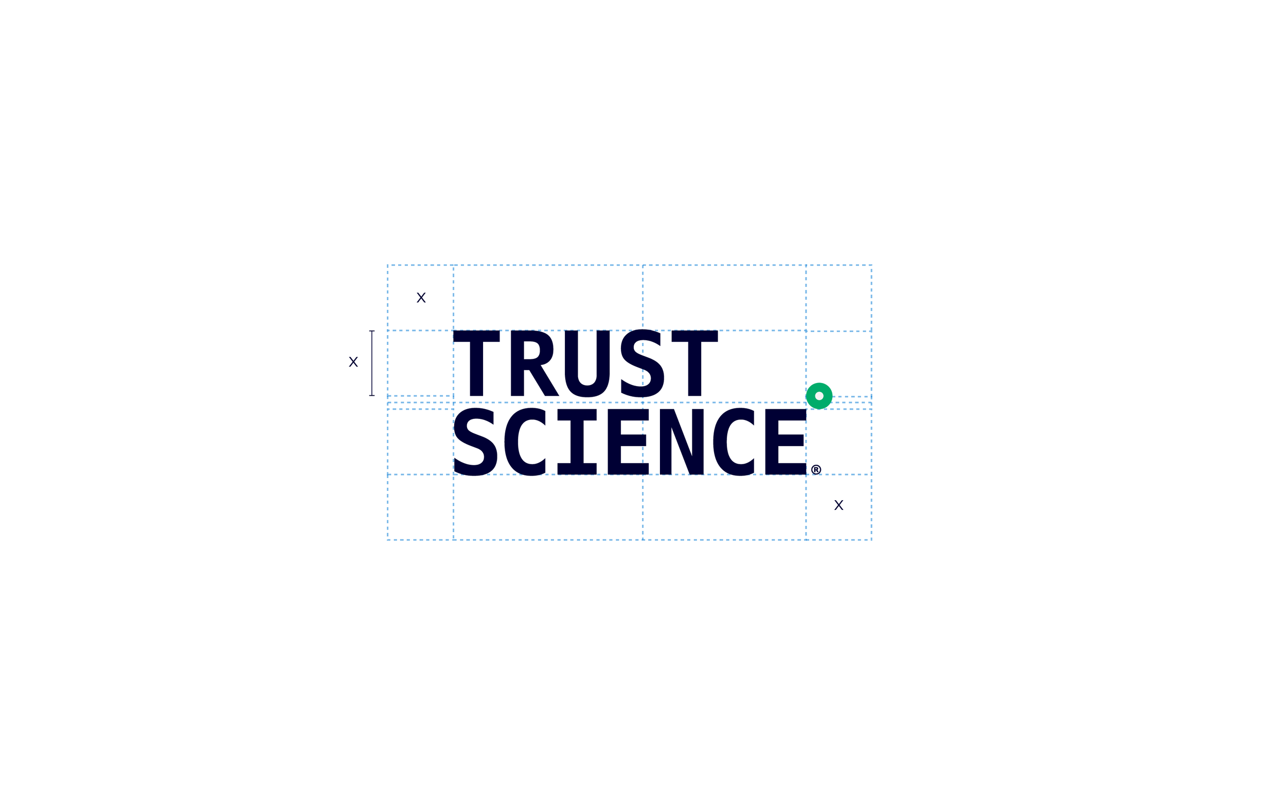 PRIMARY LOGO STACKED : CLEAR SPACE