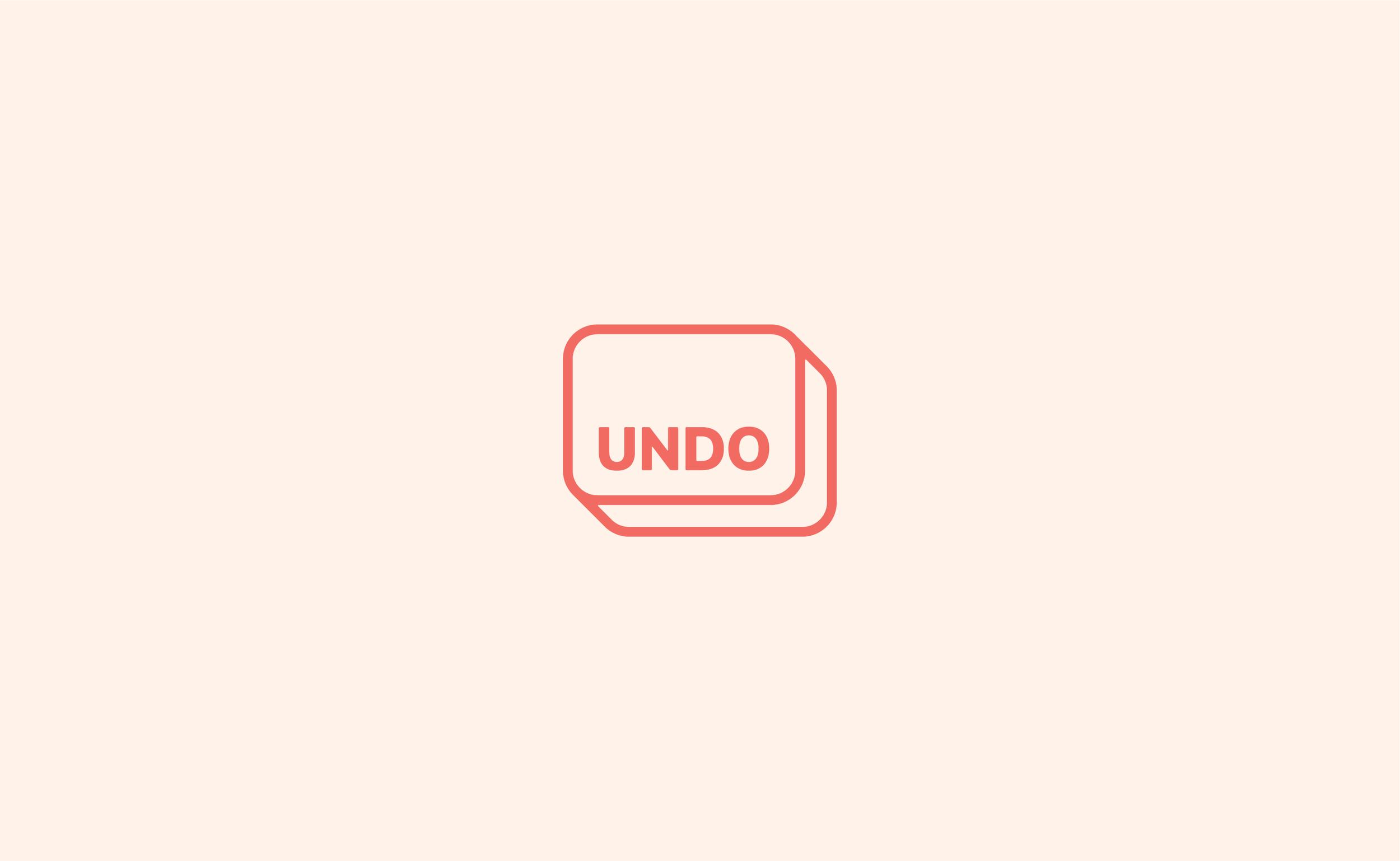UNDO PRIMARY LOGO