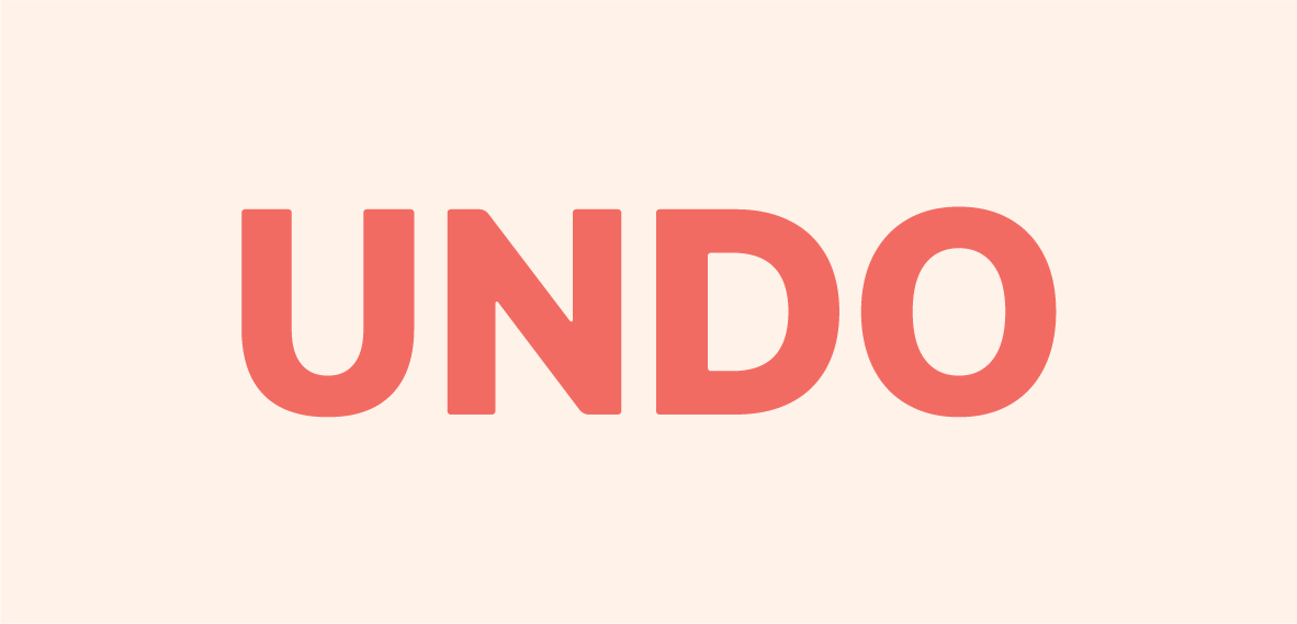 Undo Wordmark      .png      .  eps