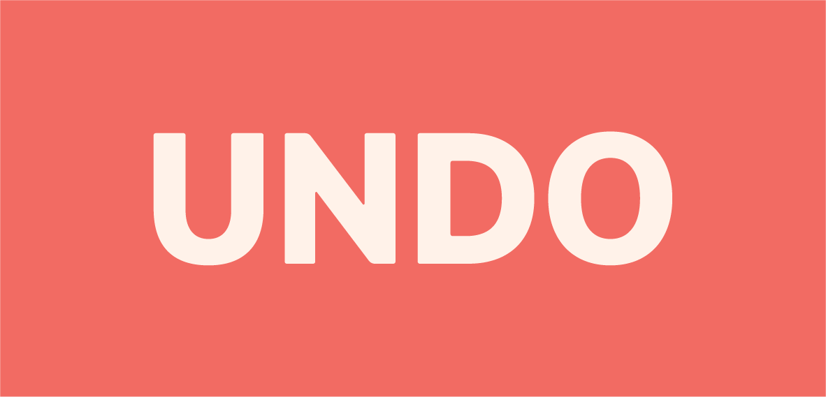 Undo Wordmark - Reversed      .png     .eps