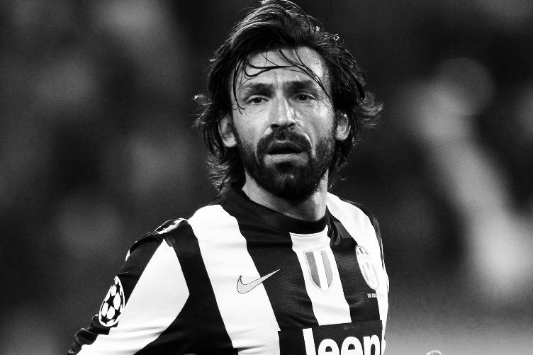 Pirlo's beard transformed his look total.