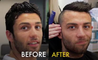 Ronaldo + hair