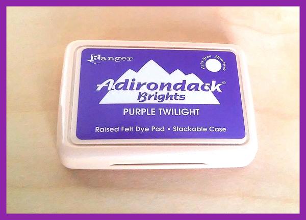 Ranger Adirondack Brights Dye Ink  in Purple Twilight