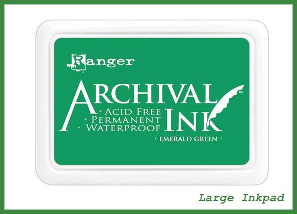 Ranger Archival Ink  in Emerald Green