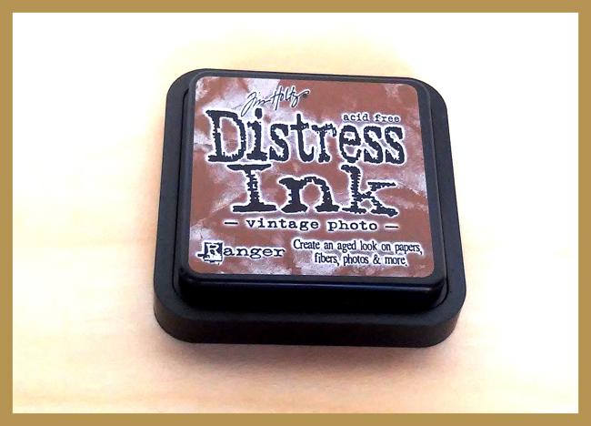 Tim Holtz Distress Ink  in Vintage Photo