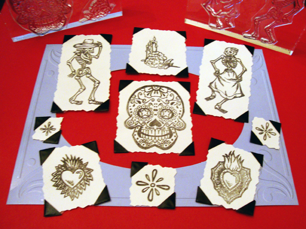 Day of the Dead / Dia de los Muertos Stamp Set