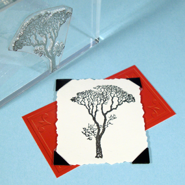 Bare Tree Stamp