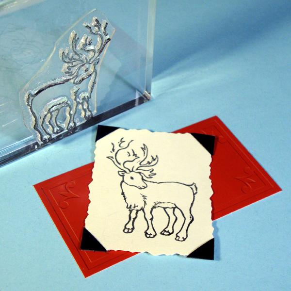 Caribou / Reindeer Stamp