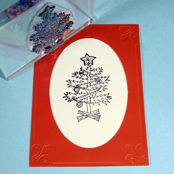 Christmas Tree Stamp