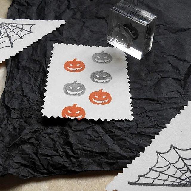 Happy Halloween!! . . . . . #halloween #halloweenstamps #pumpkinstamps #stamping #halloweencrafts #jackolanternstamps #jackolantern #pumpkincarving #fallcrafts #spiderweb #spiderwebstamp #handmadestamp #diydecorating  #holidaystamps #etsyshop