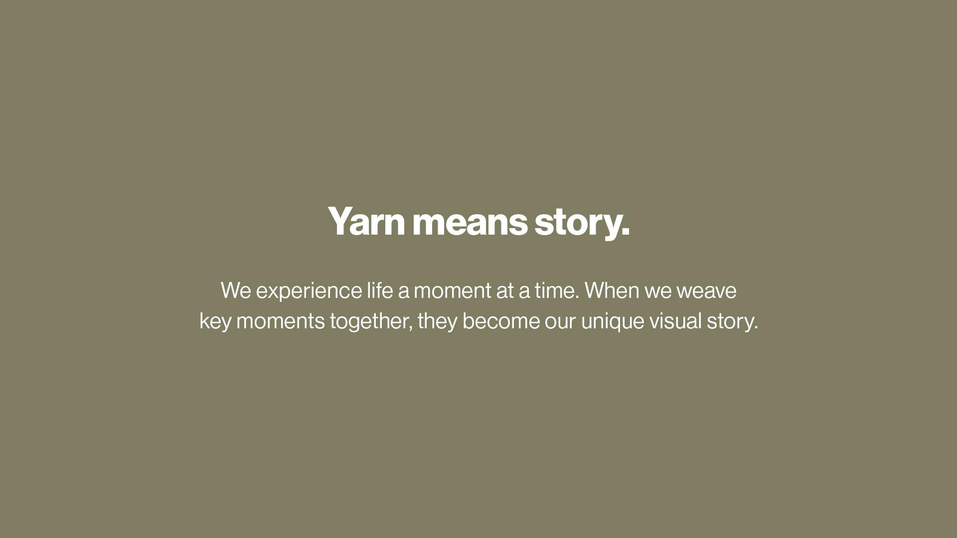 Yarn App — BLAQ CREATIVE