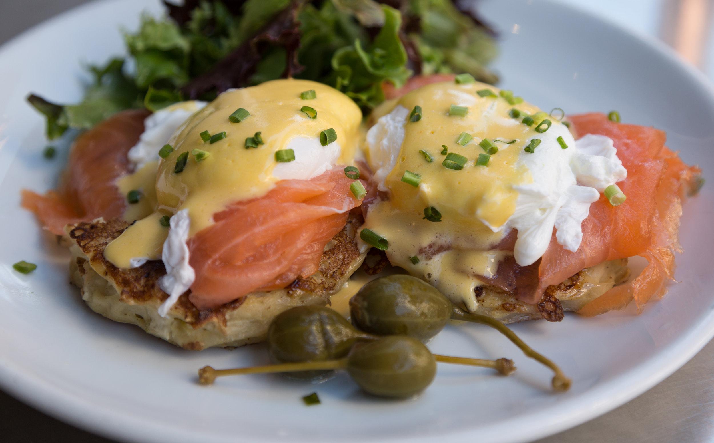 Eggs Benedict - ELA's Sunday Brunch