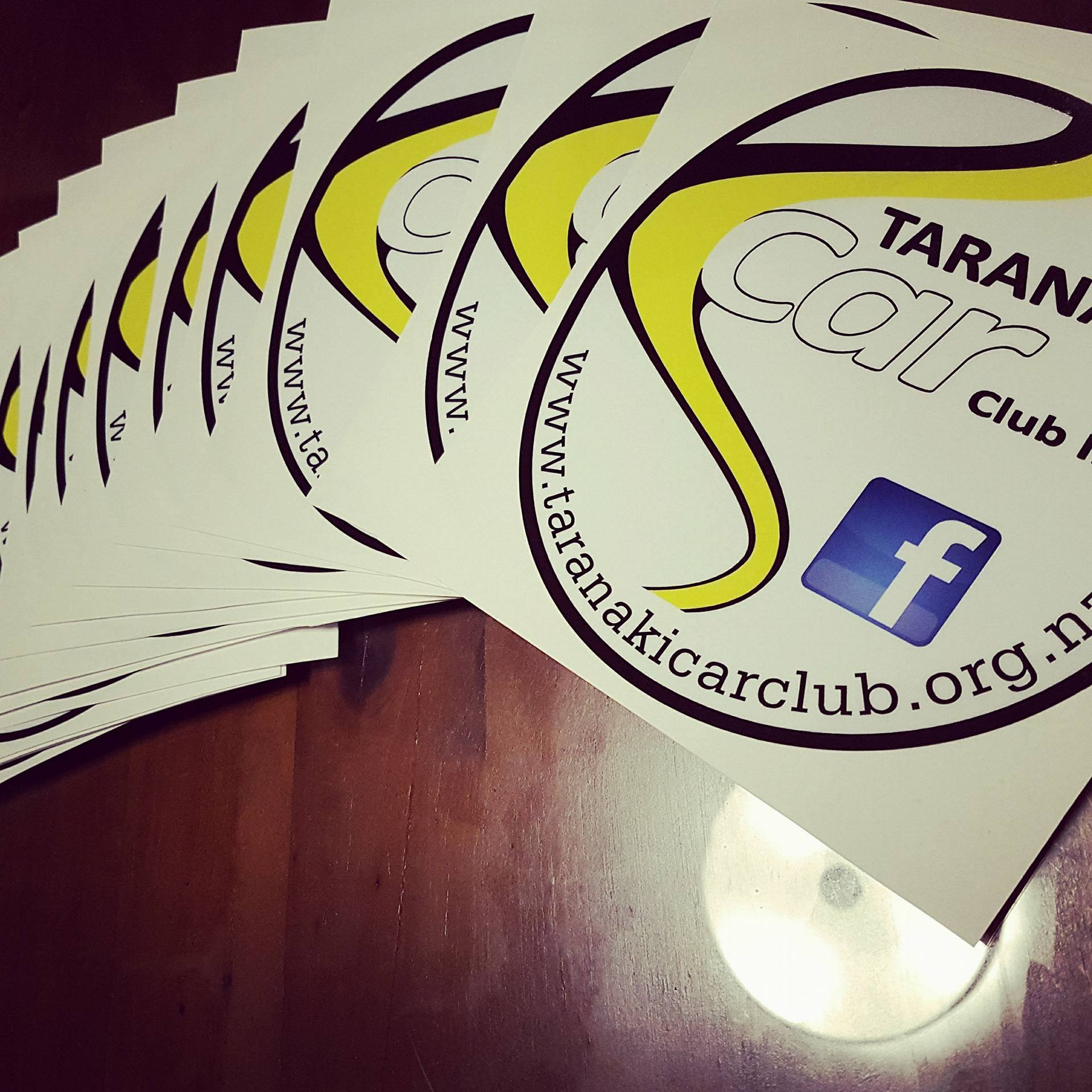 Contact Larni to get your TCC stickers