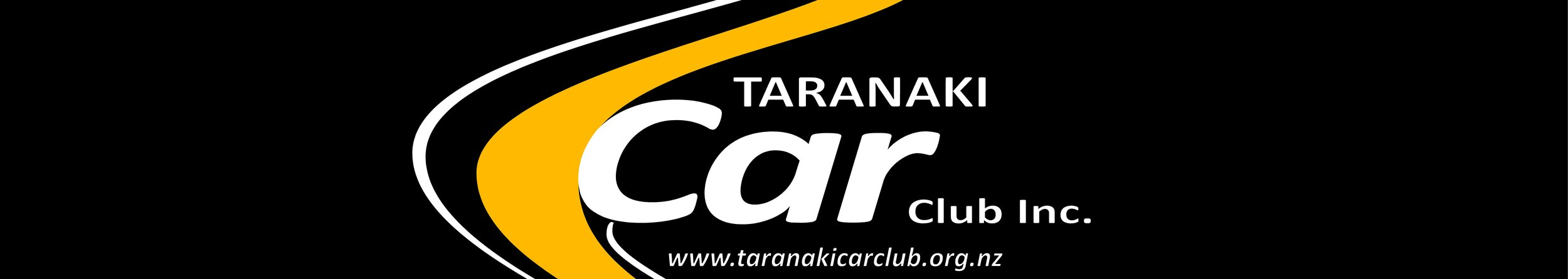 Taranaki car club window banner - $30 each