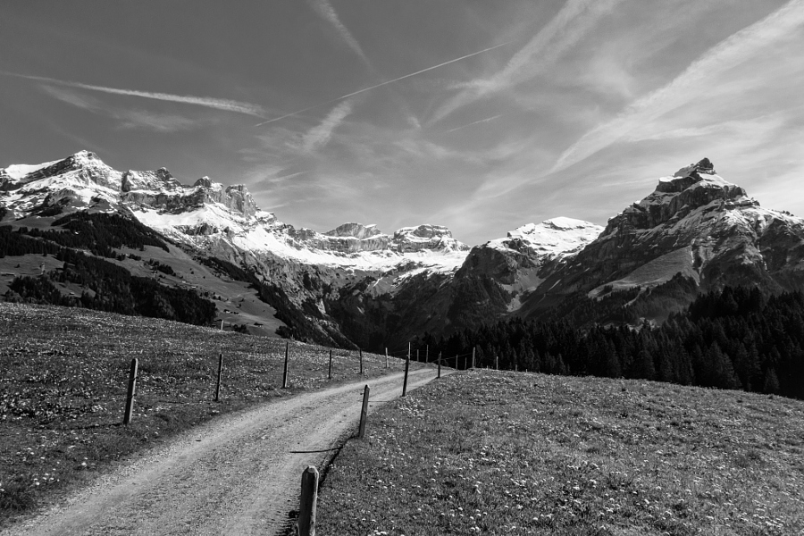 where I go running ... Swiss Alps