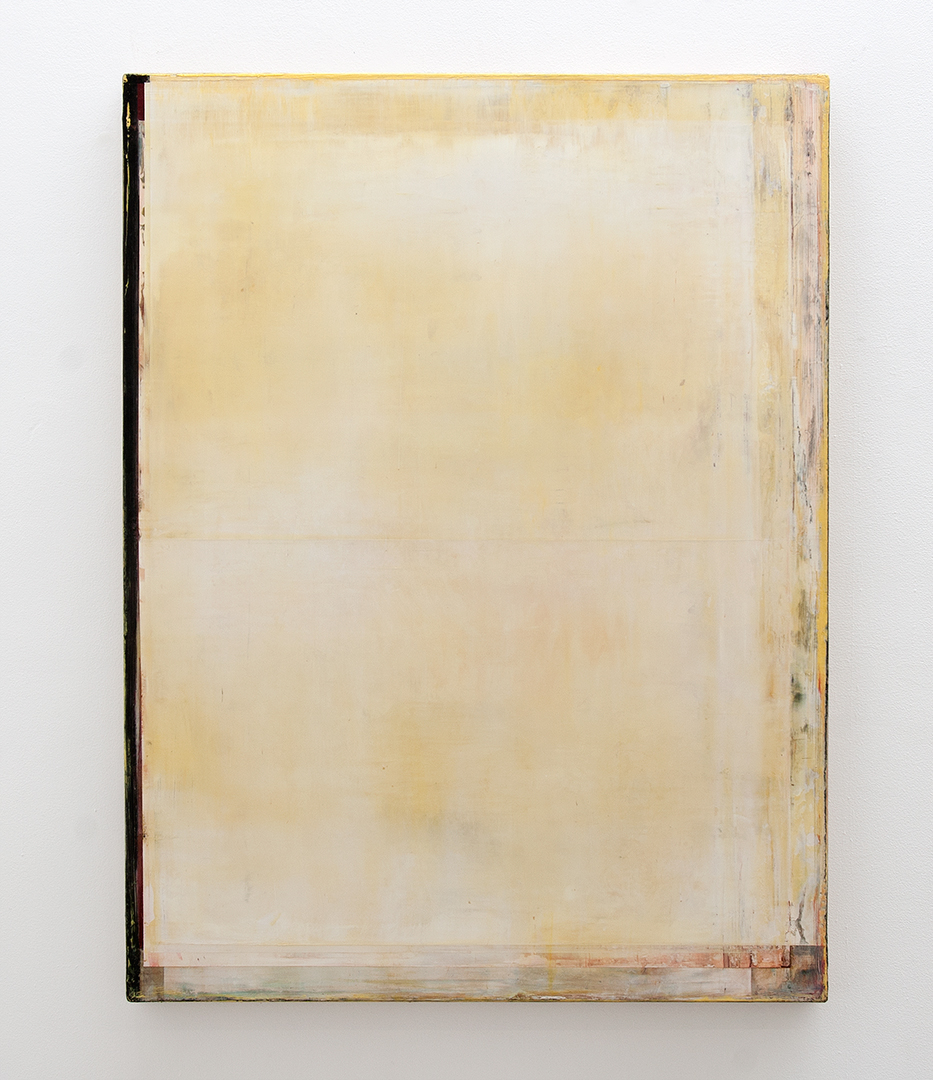 Daniel Brice, OX 38, 2014, oil on burlap over panel, 48 x 36 inches