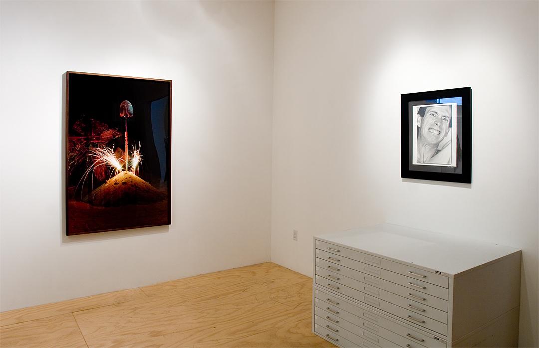 "Nicolas Shake, ""Celebrating The Effort"", 2014, pigment pring on rag paper, 60 x 40 inches; Bob Flanagan & Sheree Rose, ""Bob Flanagan"""