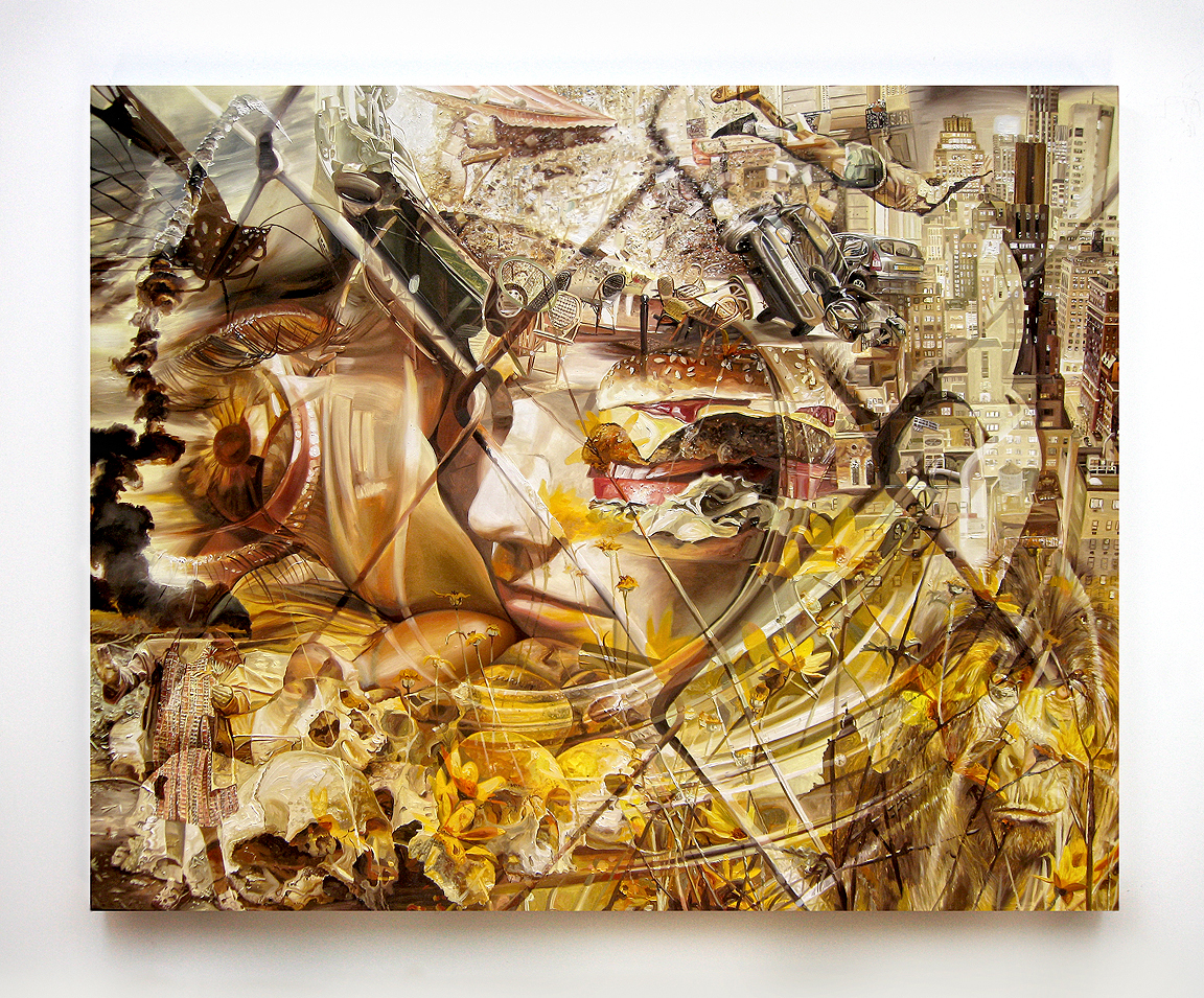 Chad Robertson, Untitled #20, 2010 oil on canvas over panel 48 x 60 inches