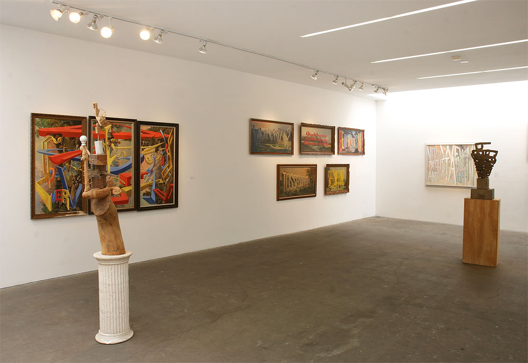 Wayne White Master Works 2000 - 2009 exhibition at Western Project