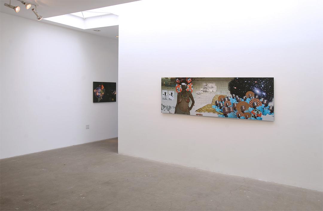 "Jessica Wimbley, ""I Am Katrina"" Exhibition installation at Western Project July, 2012"