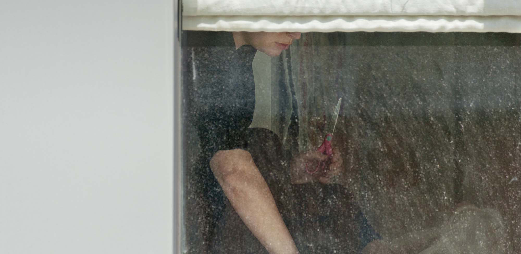 Arne Svenson,The Neighbors #3, 2012, pigment print, 28 x 57 inches