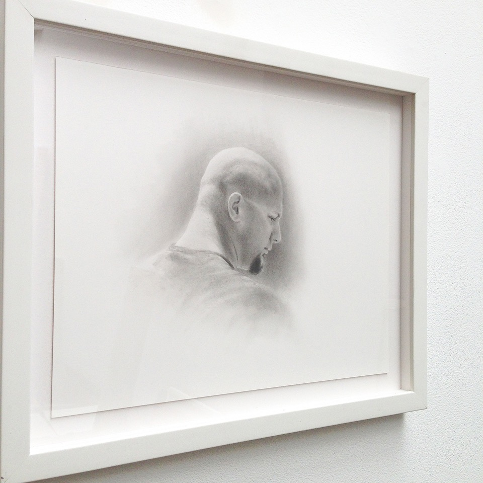 PATRICK LEE, Untitled Study, 2009, graphite on paper, 11 x 14 inches
