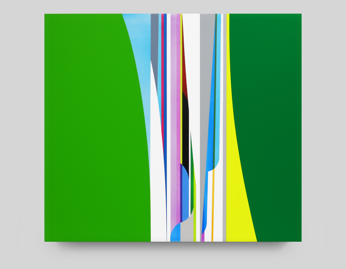 DION JOHNSON, Meadow, 2015, acrylic on canvas, 32 x 36 inches
