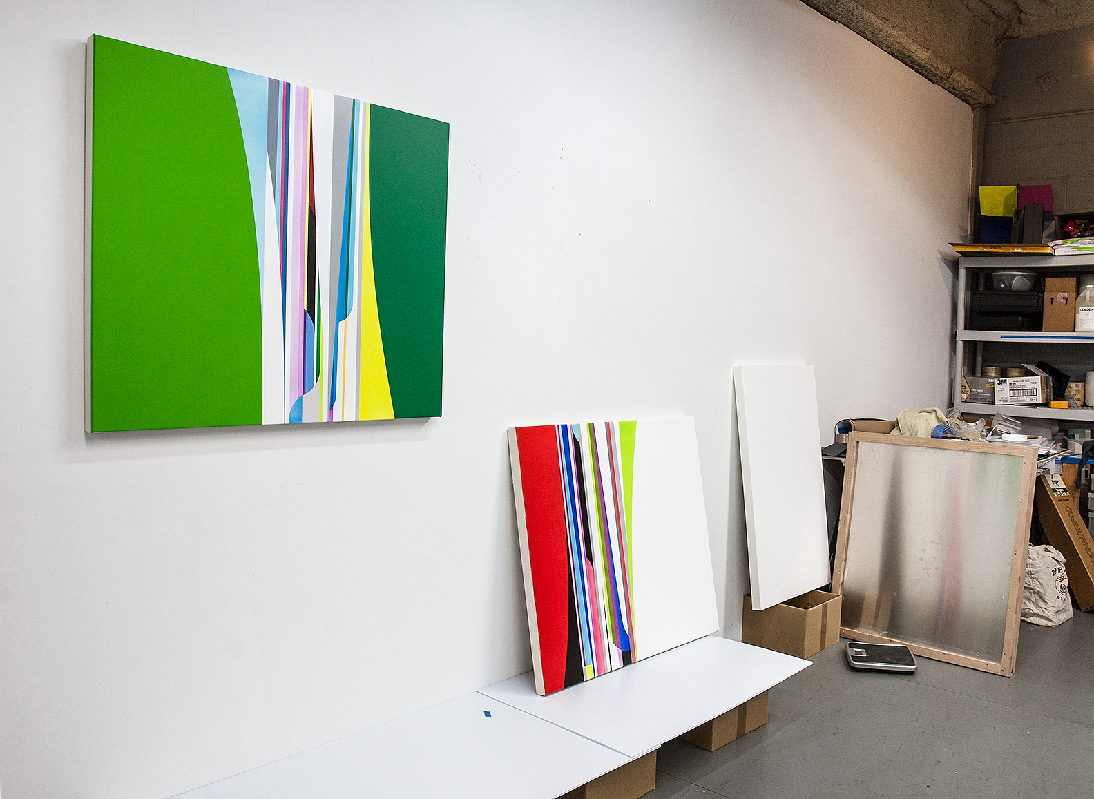 DION JOHNSON, Studio 2015 with Meadow and Dazzle