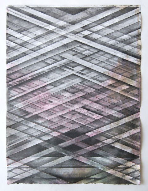 JOE LLOYD, Graphite Drawing 1, 2015, graphite, ink, acrylic, on paper, 26.5 X 20 inches