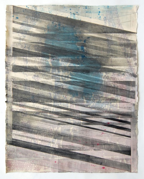 JOE LLOYD, Graphite Drawing 2, 2015, graphite, ink, acrylic, on paper, 28 X 22.5 inches