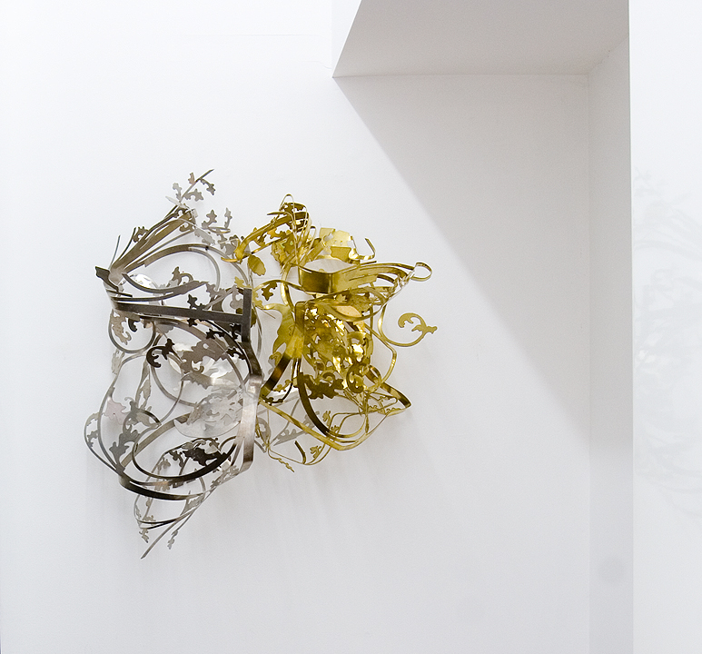 MARGARET GRIFFITH, Untitled, Aluminum and Brass