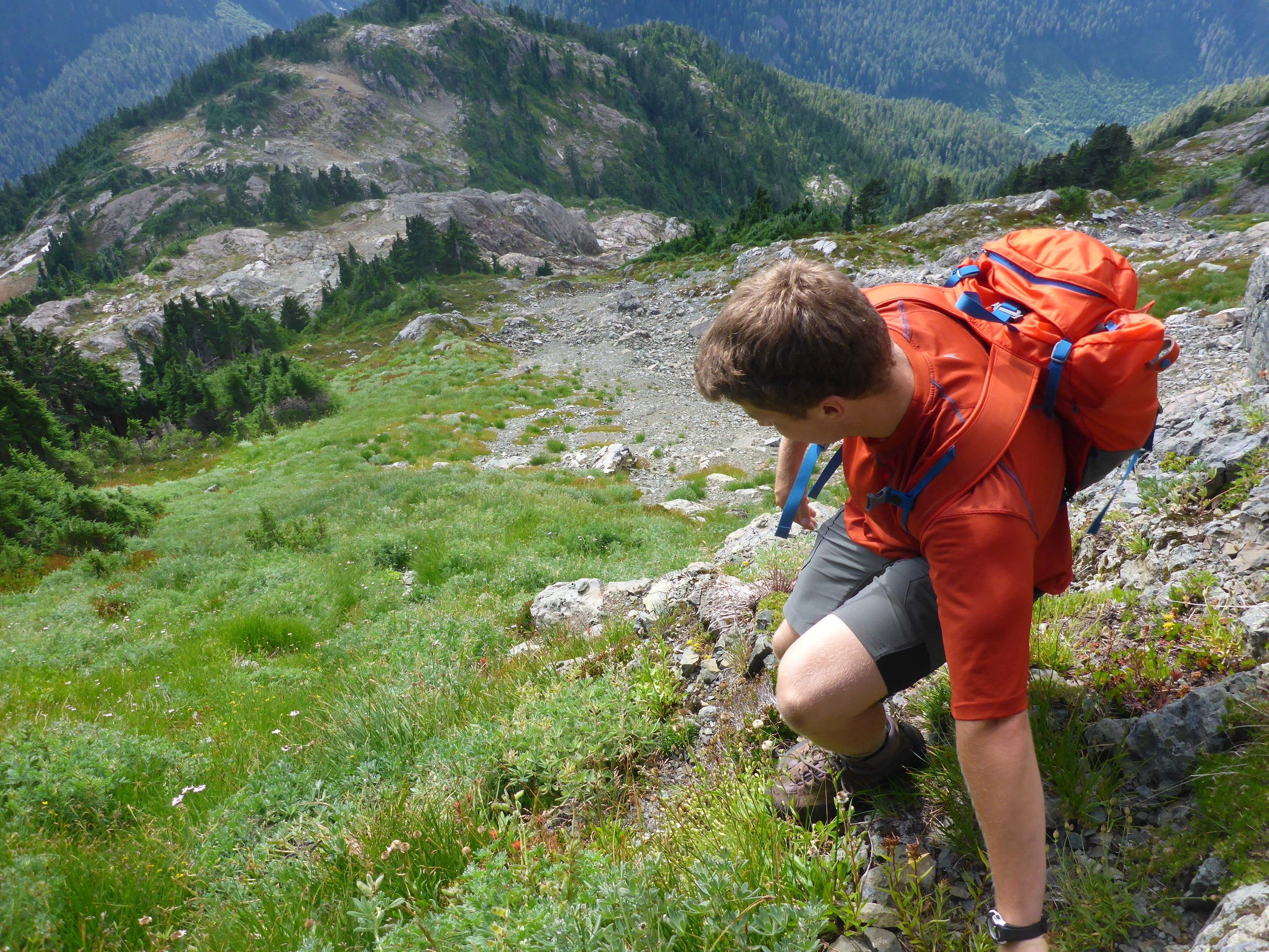 Private hiking tour in BC.