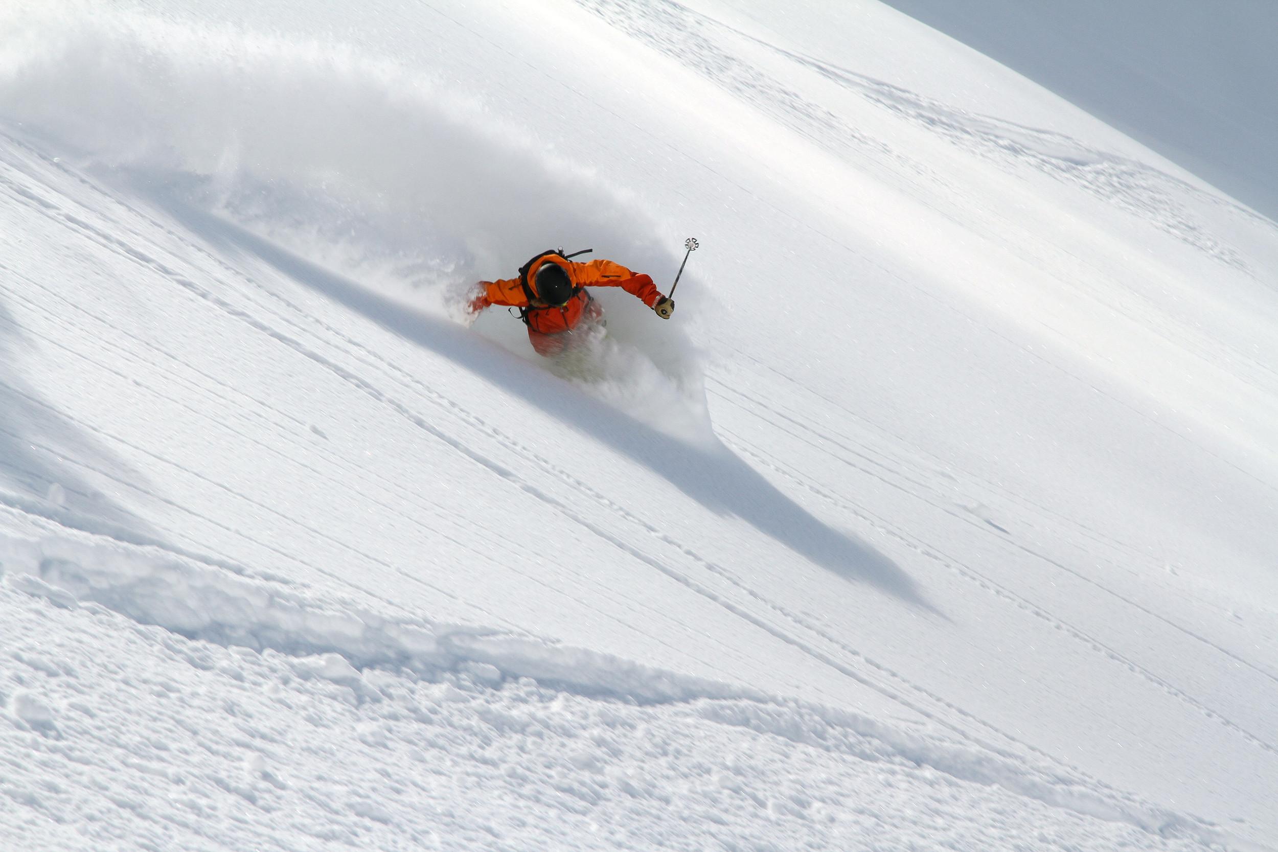 Canada ski tours with fresh powder in British Columbia.