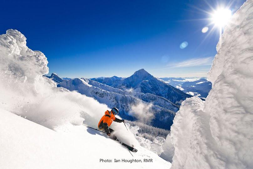 Ski Revelstoke on Canada ski tour.