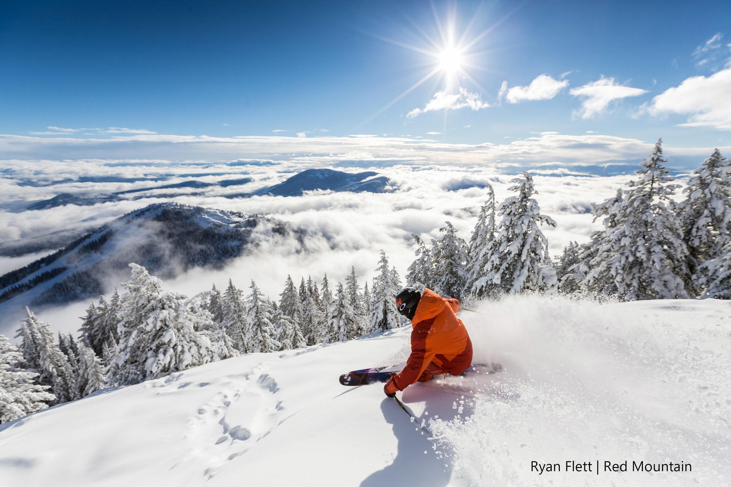 Ski tours in Canada.