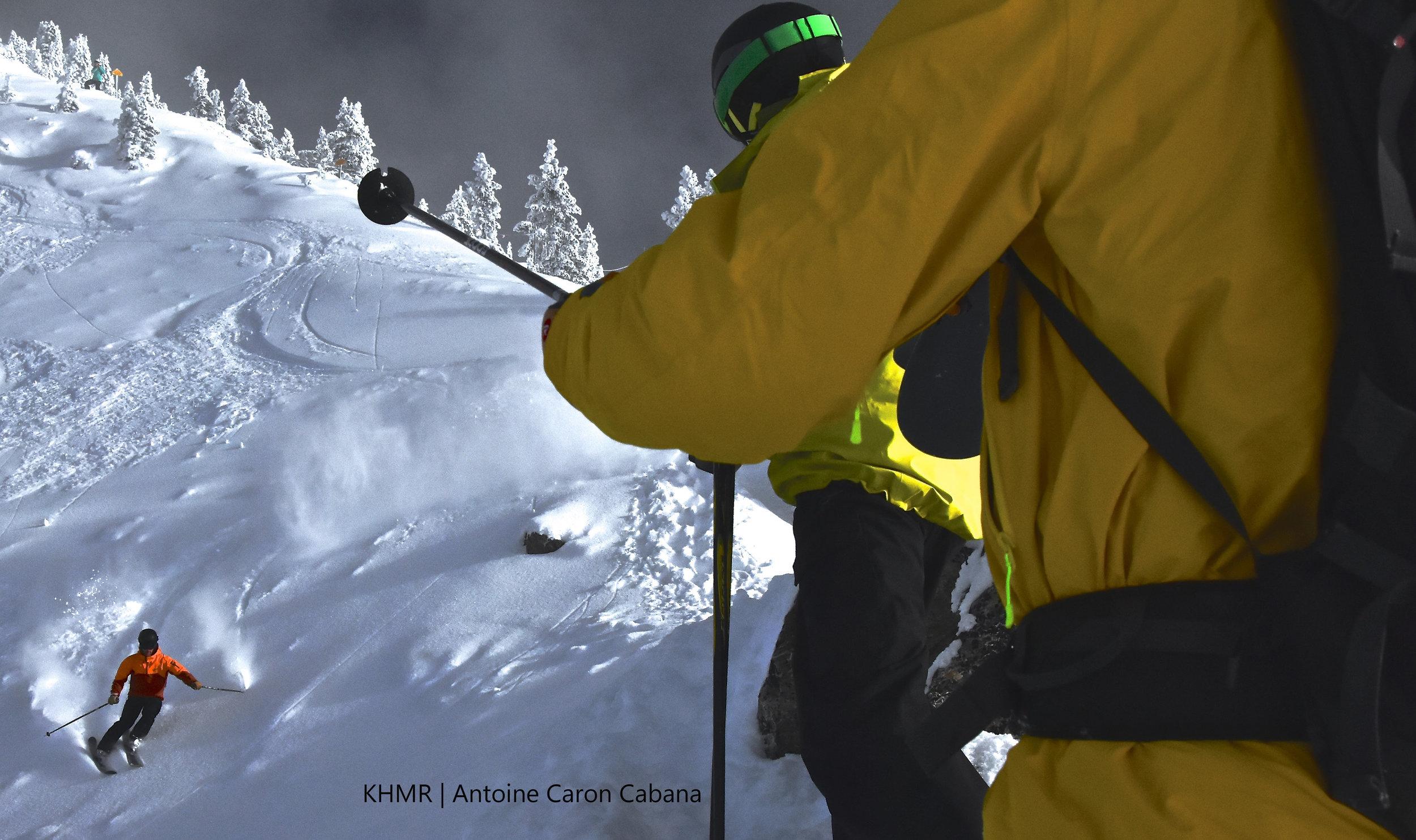 British Columbia ski tour at Kicking Horse