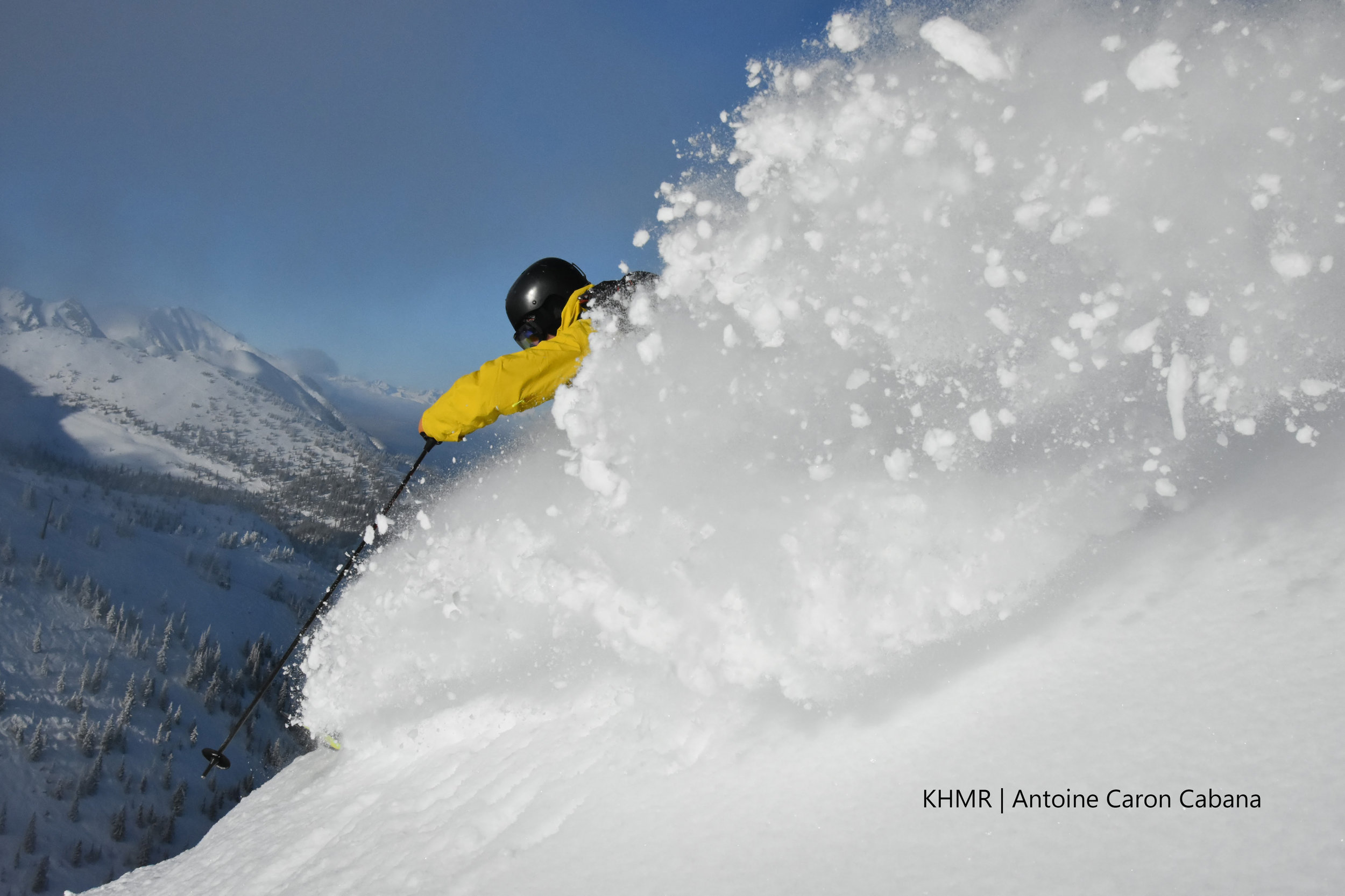 Guided powder skiing in British Columbia