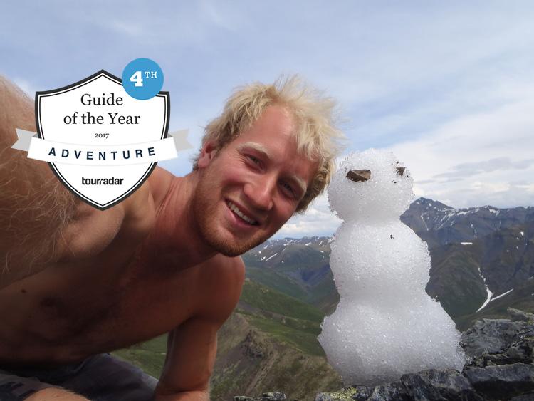 Canada hiking guide Alex Ross