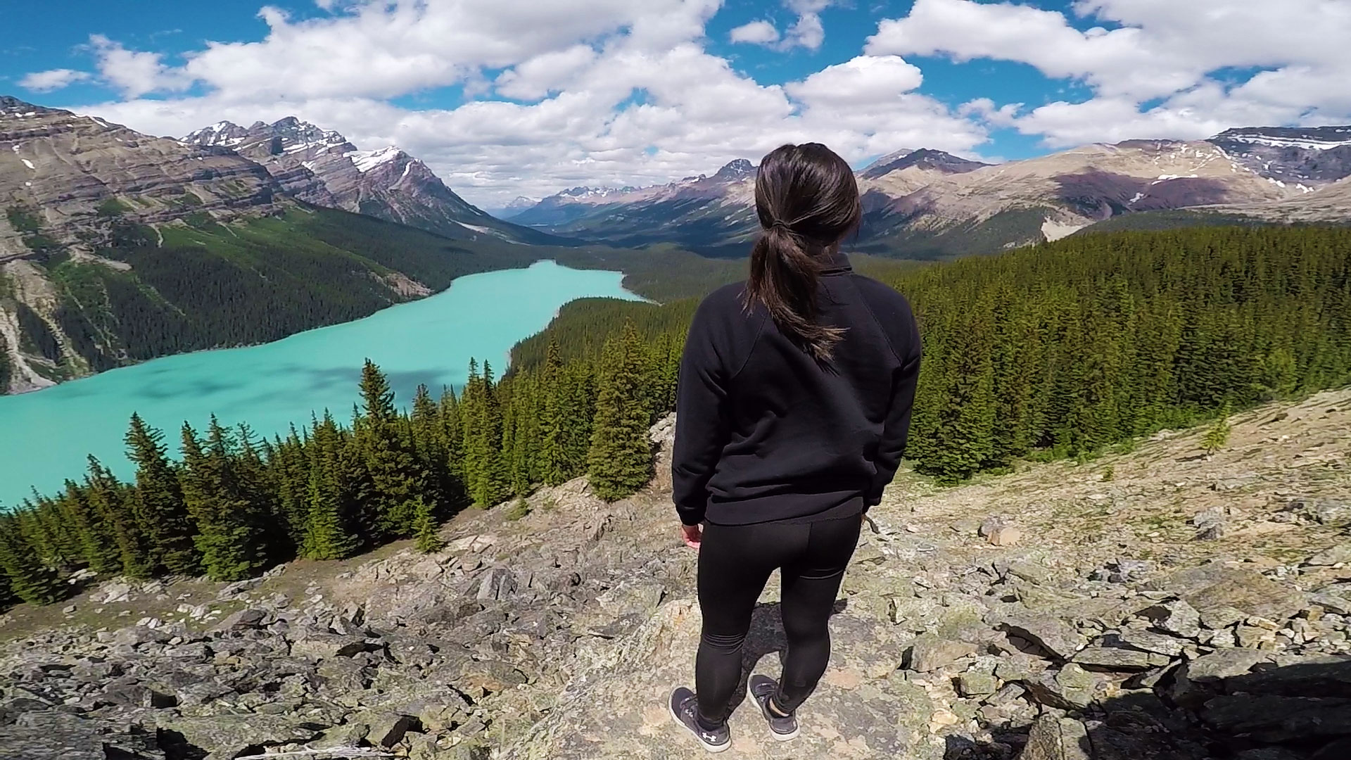 Guided active adventures in Canada in the Rockies.