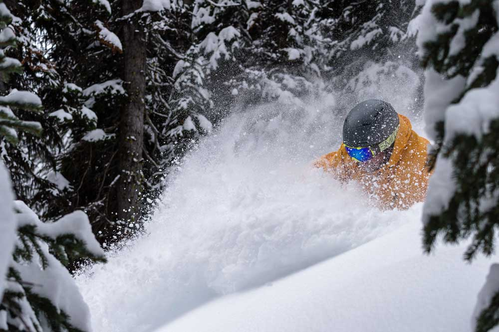 Small groups ski tours in the Rockies