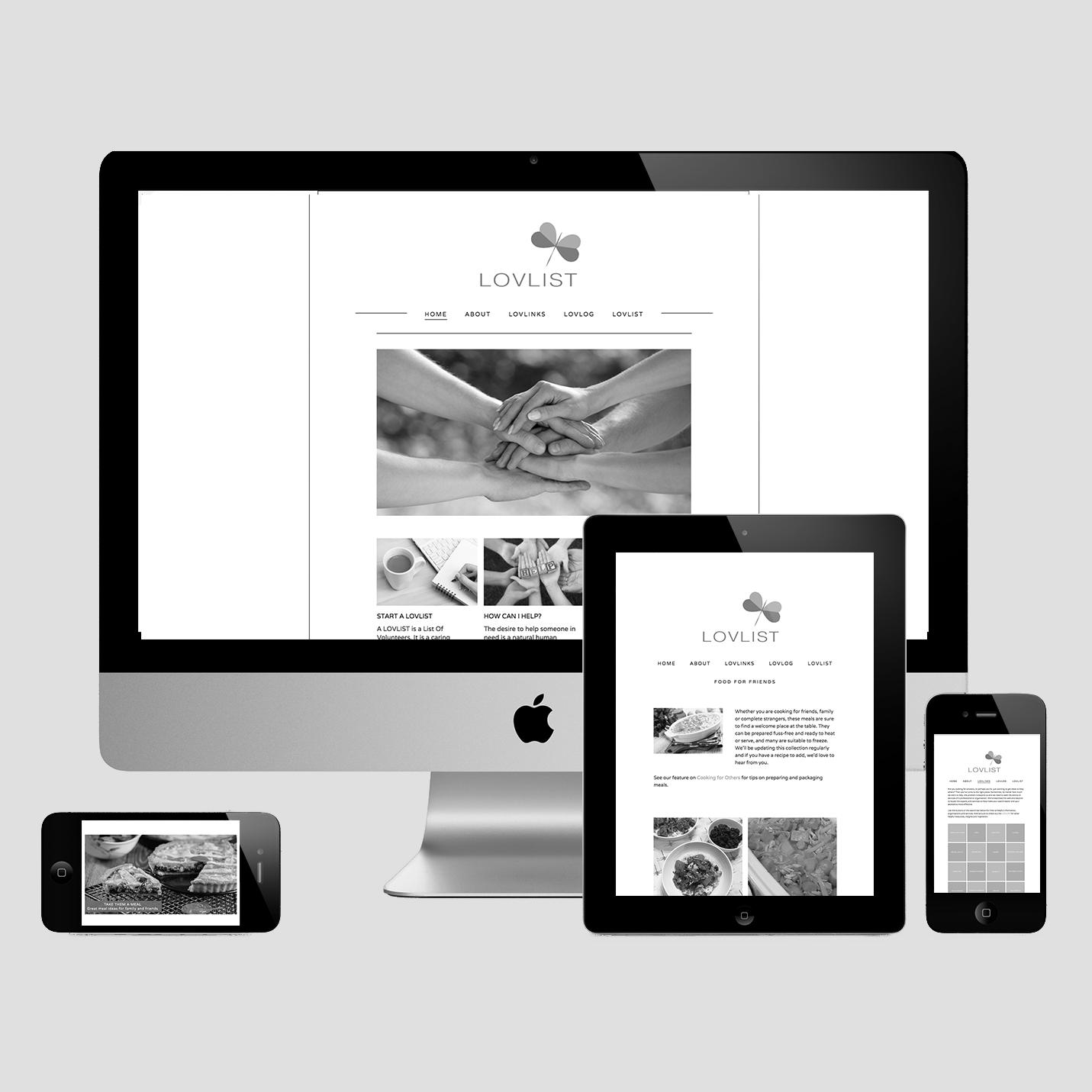 Web Design, Lovlist