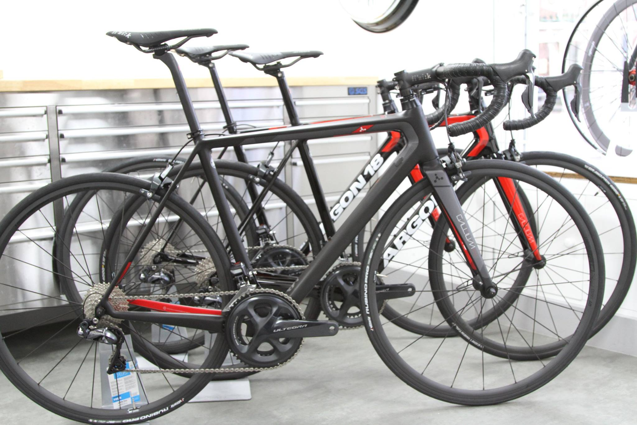 ARGON18   At Service de Velo we have a long standing relationship with Argon 18. We can now offer our collection range of bikes designed with the balance of value and design all beautifully built, sized and fitted for you in store.