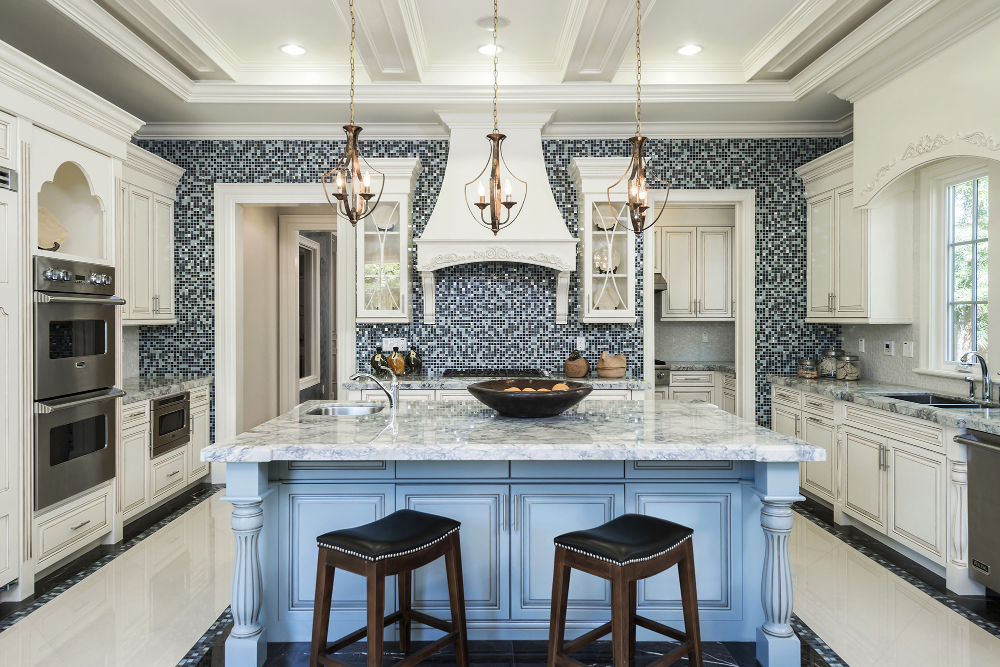 Grand-Kitchen-Blue-Island-Mosaic Backsplash.jpg