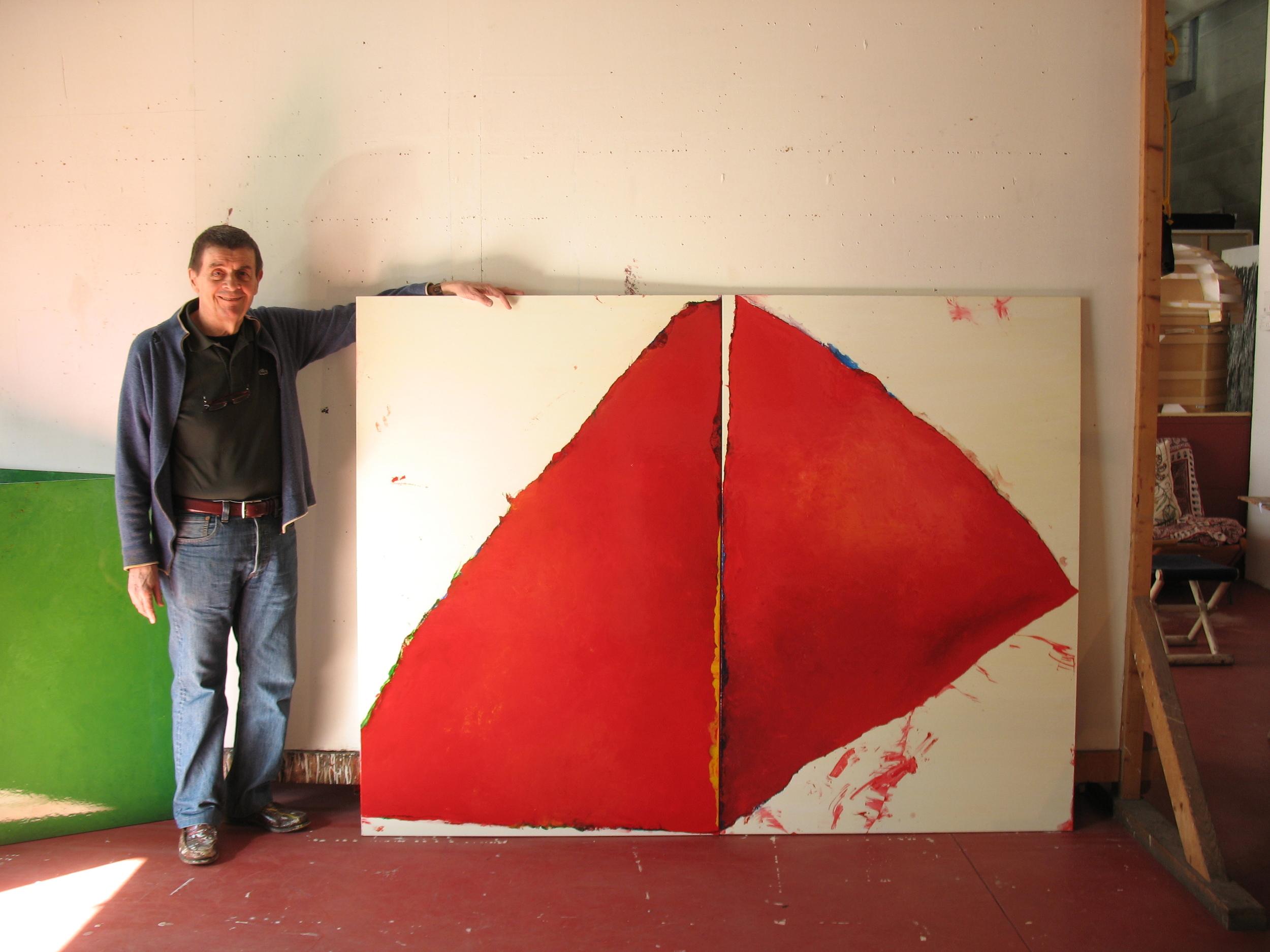 Tovaglia (2 triangoli rossi)