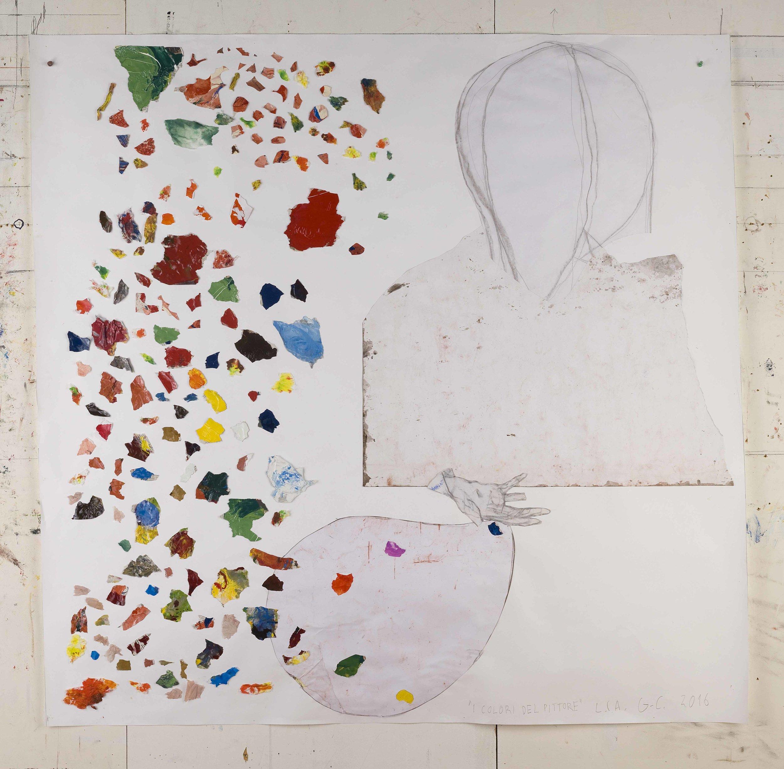 I colori del pittore