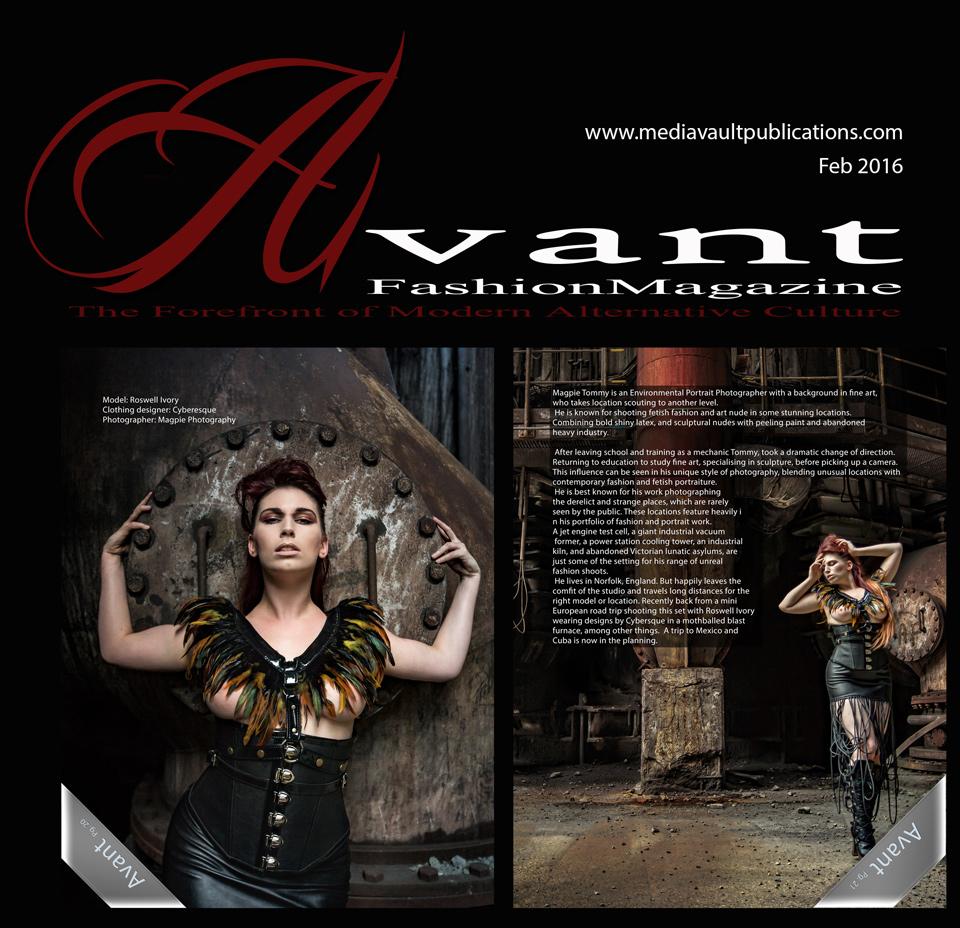 Avant Fashion Magazine Vol.4-No.1