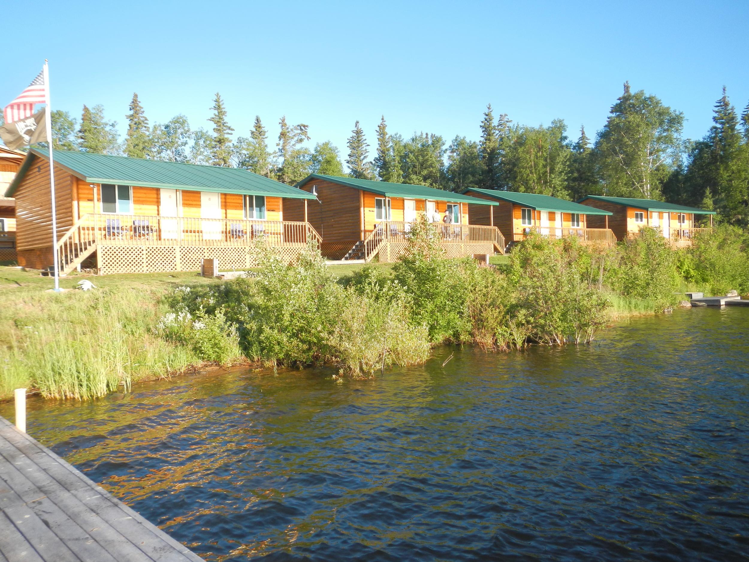 Black Bear Island Lodge Cabins