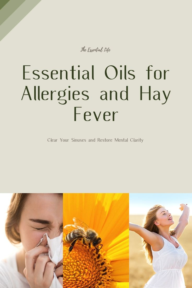 Essential Oils For Treating Allergy Symptoms The Essential Life