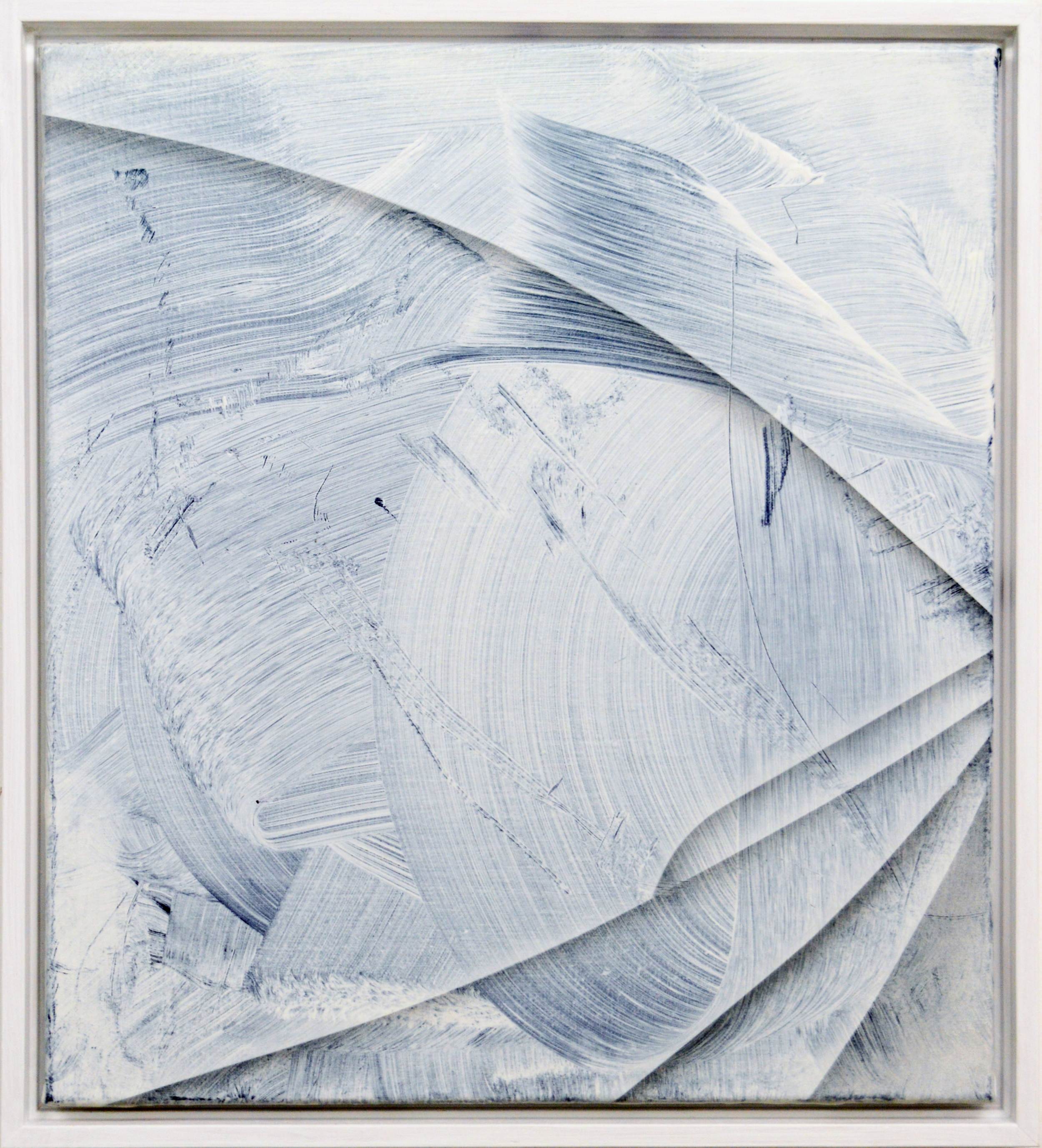 Silver Lining |2015 acrylic on linen 45 x 40 cm